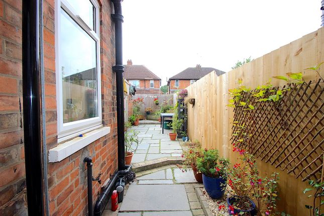 Rear Garden of Joyce Road, Leicester LE3
