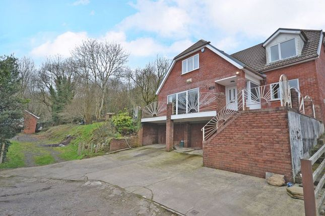 Thumbnail Detached house for sale in Spacious Detached House With Ground, Penrhiw, Risca - No Chain