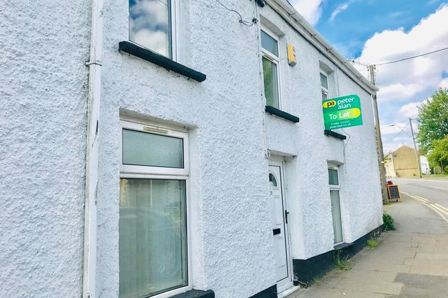 Thumbnail End terrace house to rent in High Street, Cefn Coed, Merthyr Tydfil