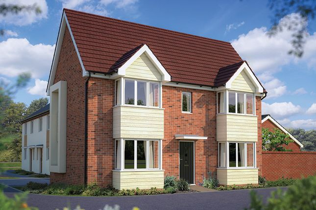 "Thumbnail Detached house for sale in ""The Sheringham"" at London Road, Calverton, Milton Keynes"