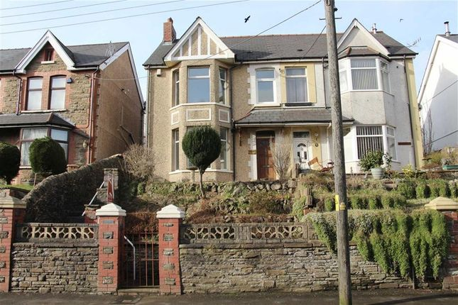 Thumbnail Semi-detached house for sale in Park Road, Hengoed