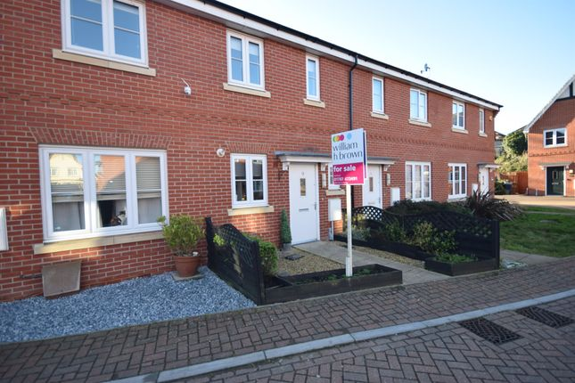 2 bed terraced house for sale in Finch Walk, Sible Hedingham, Halstead CO9