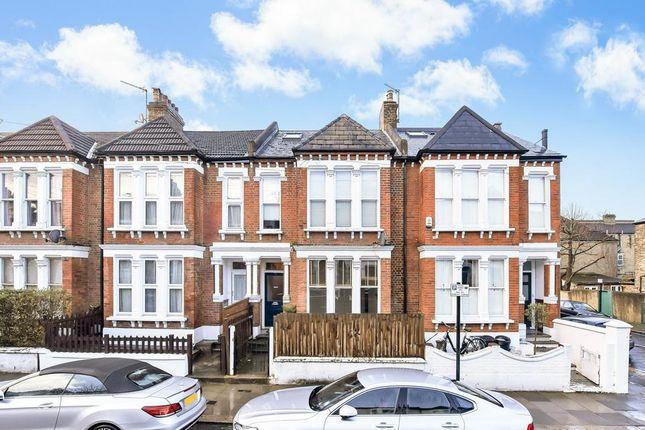 External of Chestnut Grove, London SW12