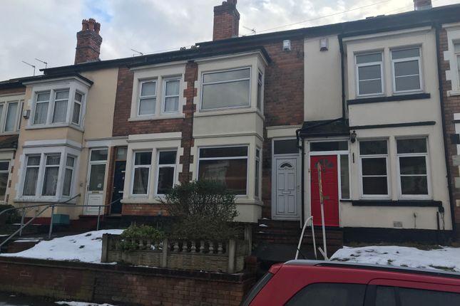 2 bed terraced house to rent in Rosary Road, Erdington, Birmingham