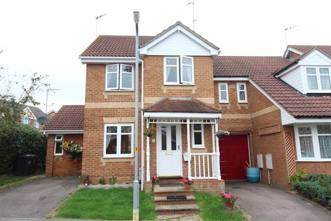 Thumbnail End terrace house for sale in Home Close, Irthlingborough, Wellingborough