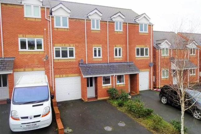 Thumbnail Terraced house for sale in 12, Oaklands Park, Barnfields, Newtown, Powys