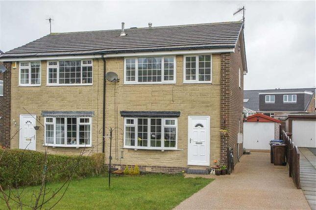 Thumbnail Semi-detached house for sale in Stapper Green, Wilsden, West Yorkshire
