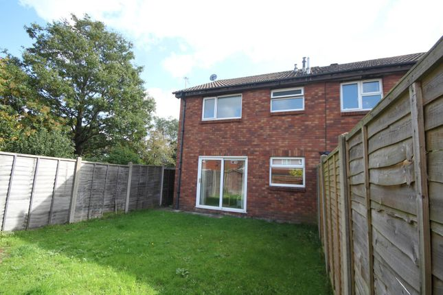 Thumbnail End terrace house to rent in Warmwell Close, Muscliffe, Bournemouth