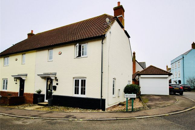 Thumbnail Semi-detached house for sale in Silvester Way, Springfield, Chelmsford, Essex