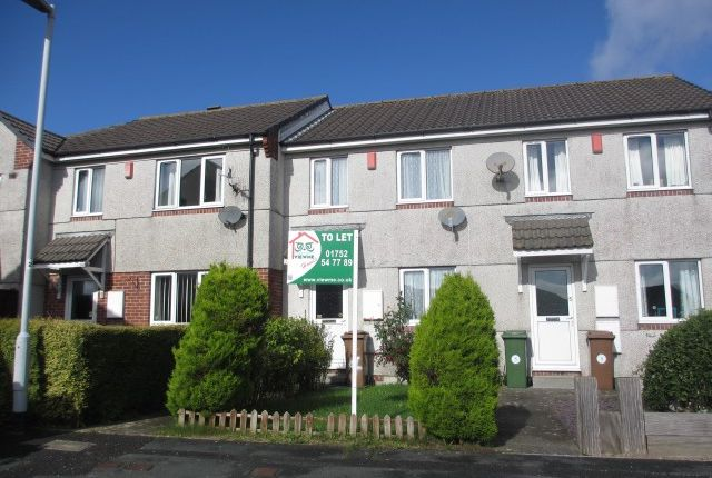Thumbnail Terraced house to rent in Howard Close, Kings Tamerton, Plymouth, Devon