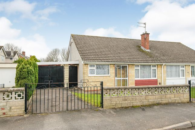 Thumbnail Semi-detached bungalow for sale in St Annes Drive, Oldland Common, Bristol