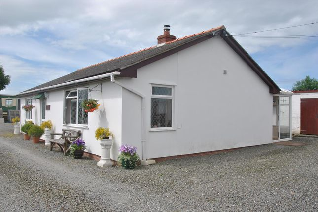 Thumbnail Detached bungalow for sale in Ynyslas, Borth