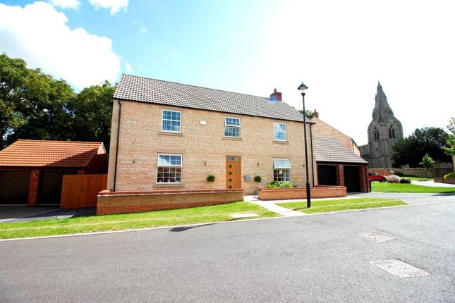Thumbnail Detached house for sale in St Marys Lane, Warmington, Peterborough