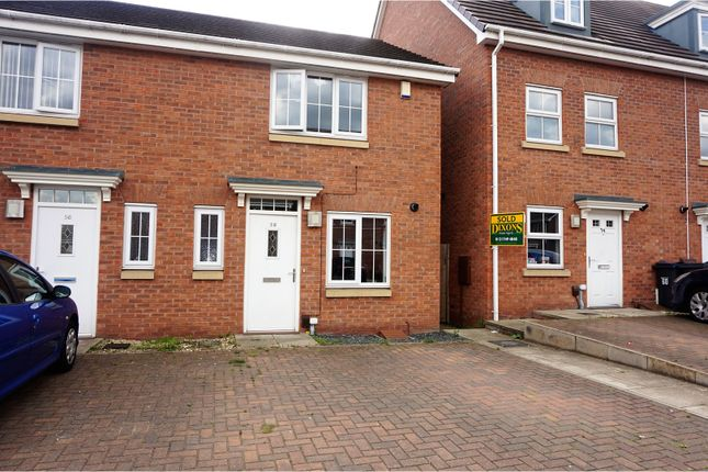 Thumbnail Semi-detached house for sale in The Shardway, Birmingham