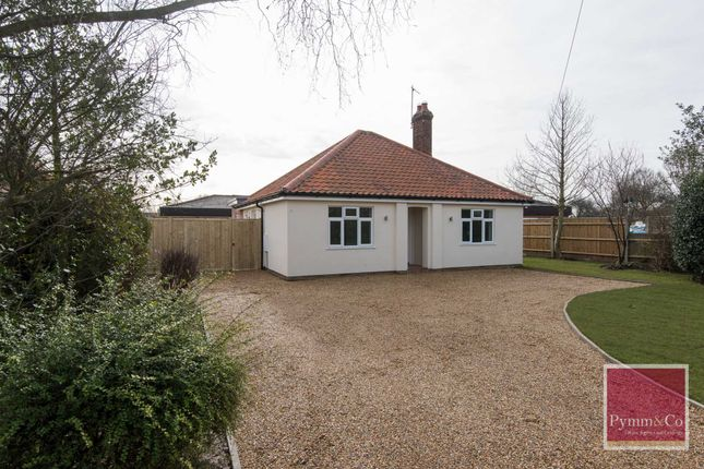 Thumbnail Detached bungalow for sale in South Walsham Road, Acle, Norwich
