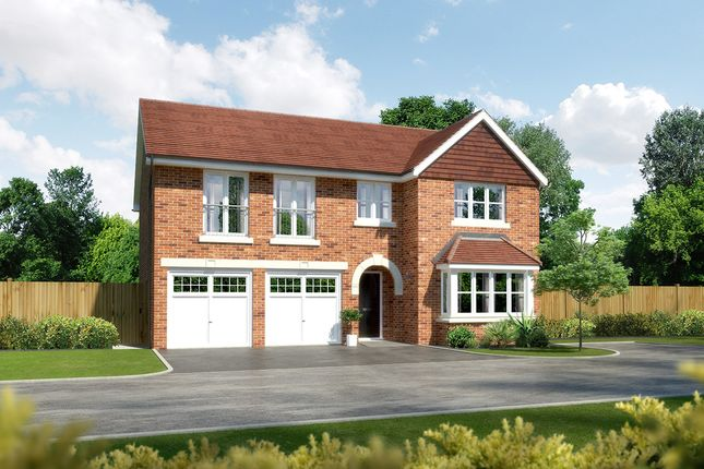 "Thumbnail Detached house for sale in ""Melton II"" at Whittingham Lane, Broughton, Preston"