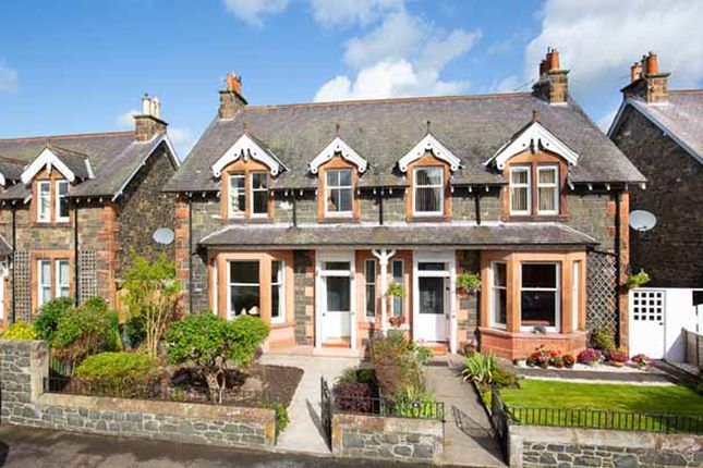 Thumbnail 3 bed semi-detached house for sale in 27 Crossland Crescent, Peebles
