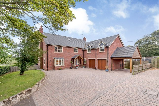 Thumbnail Detached house for sale in Wem Road, Clive, Shrewsbury
