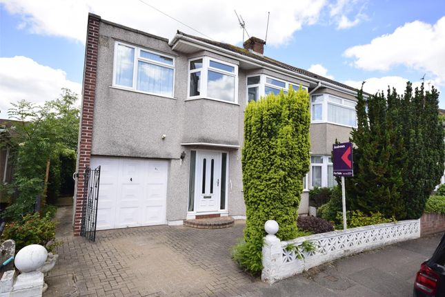 Thumbnail Semi-detached house for sale in Wedgewood Road, Downend, Bristol
