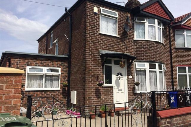 Thumbnail Semi-detached house for sale in Ollier Avenue, Longsight, Manchester