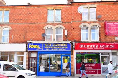Thumbnail Retail premises for sale in 185 Kettering Road, Northampton, Northamptonshire
