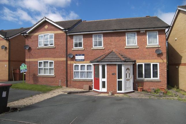 Thumbnail Terraced house for sale in 11 St Giles Close, Wellington, Telford
