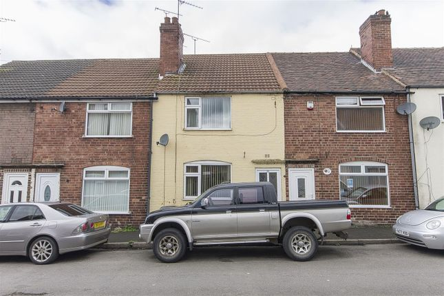 Thumbnail Terraced house for sale in Scarsdale Street, Bolsover, Chesterfield