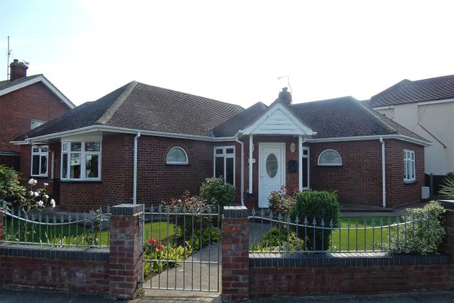 Thumbnail Detached bungalow for sale in Holland Park, Clacton-On-Sea