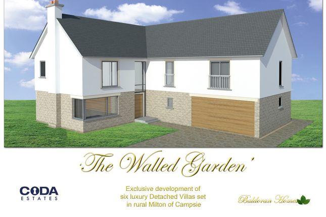 Thumbnail Detached house for sale in Baldoran Drive, Milton Of Campsie, Glasgow