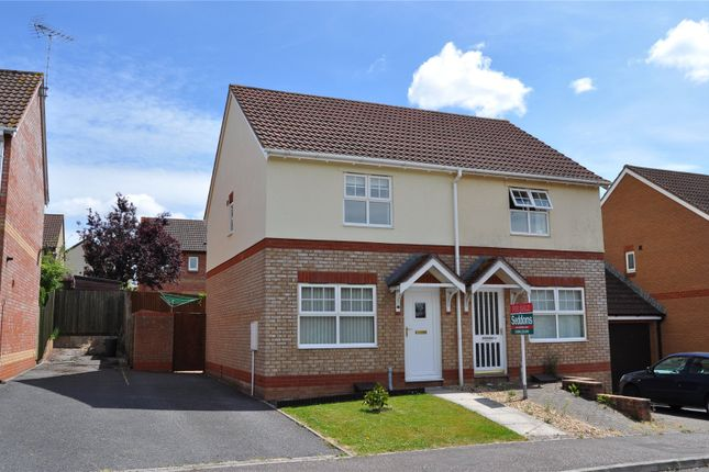 Thumbnail Semi-detached house to rent in Dove Close, Cullompton, Devon