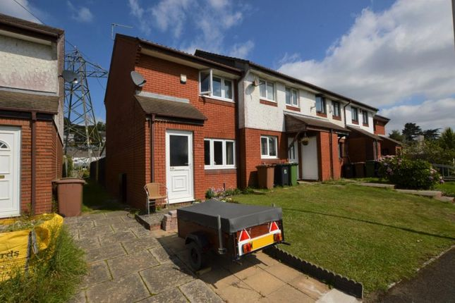 2 bed end terrace house for sale in Finch Close, Plymouth, Devon PL3