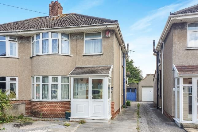 Thumbnail Semi-detached house for sale in Lewisham Grove, Weston-Super-Mare
