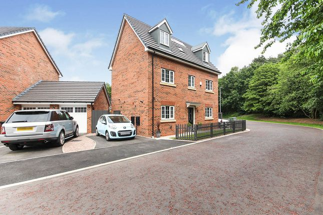 Thumbnail Detached house for sale in Norman Pidduck Close, Alsager, Stoke-On-Trent, Cheshire
