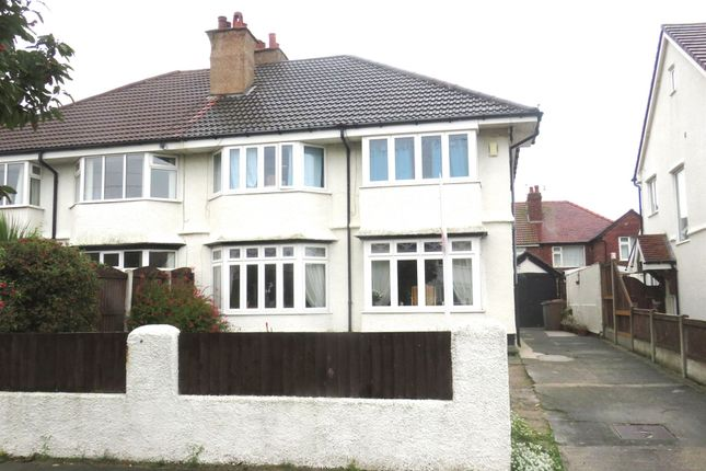 Thumbnail Semi-detached house for sale in Hoyle Road, Hoylake, Wirral
