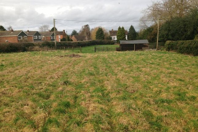 Thumbnail Land for sale in Back Lane, Ackleton, Wolverhampton
