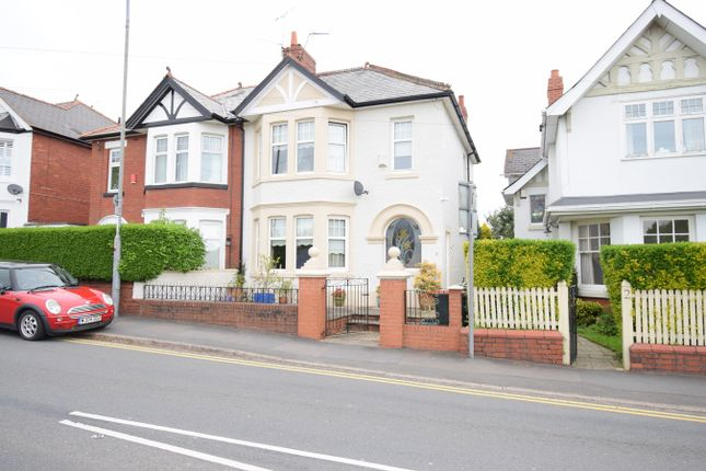 Thumbnail Semi-detached house for sale in Lodge Road, Caerleon, Newport