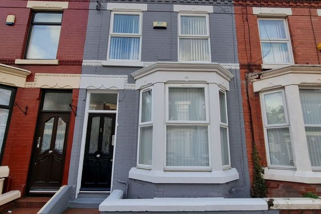 Thumbnail Terraced house to rent in Wolverton Street, Anfield, Liverpool
