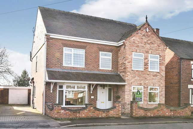 Thumbnail Detached house for sale in Gresley Wood Road, Church Gresley, Swadlincote