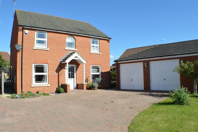 Thumbnail Detached house for sale in Monks Close, Sleaford