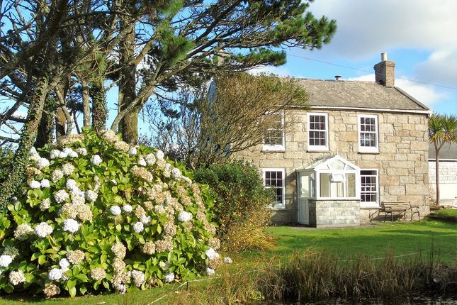 Thumbnail Detached house for sale in Trewellard Hill, Pendeen, Penzance, Cornwall.