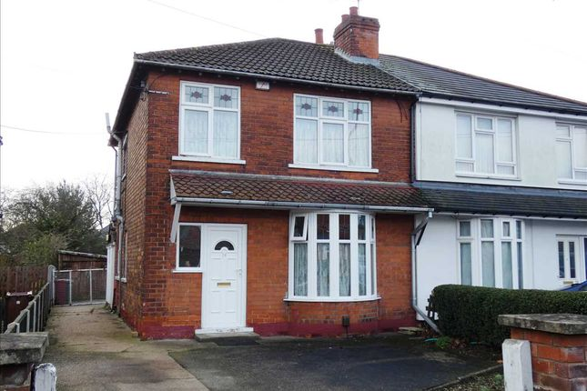 Thumbnail Semi-detached house for sale in Cliff Gardens, Scunthorpe
