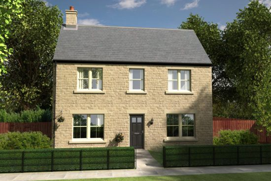 Thumbnail Detached house for sale in Peter's Mill, Alnwick, Northumberland