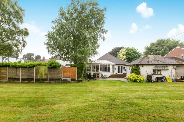 Thumbnail Bungalow for sale in Dunnocksfold Road, Alsager, Cheshire, South Cheshire