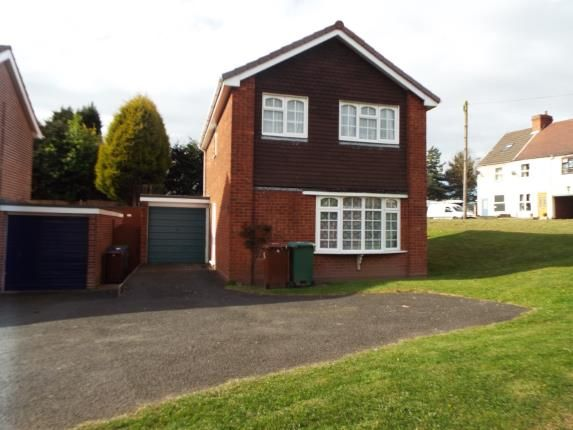 Thumbnail Detached house for sale in Denbury Close, Cannock, Staffordshire