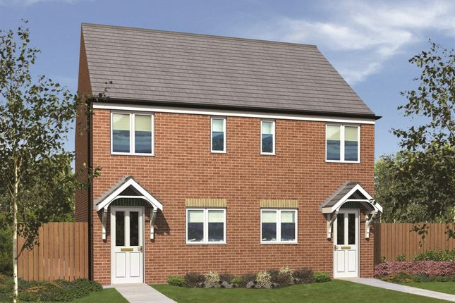 "2 bedroom semi-detached house for sale in ""The Moulton"" at The Middles, Stanley"