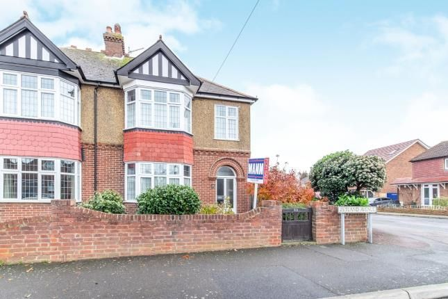 Thumbnail Semi-detached house for sale in Zetland Avenue, Gillingham, Kent