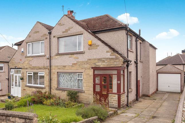 Thumbnail Semi-detached house for sale in Canford Drive, Allerton, Bradford