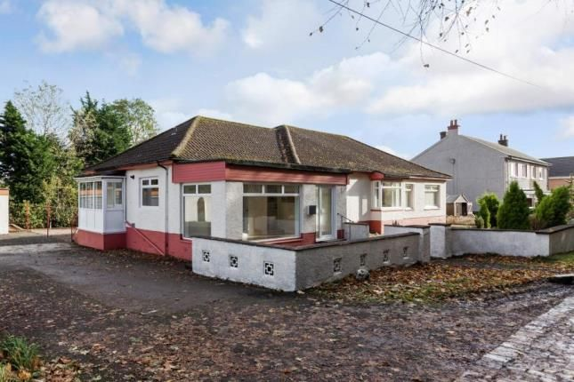 Thumbnail Bungalow for sale in Garnhall Farm Road, Castlecary, Cumbernauld, North Lanarkshire
