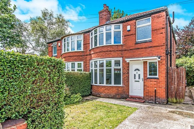 Thumbnail Semi-detached house for sale in Fairholme Road, Withington, Manchester