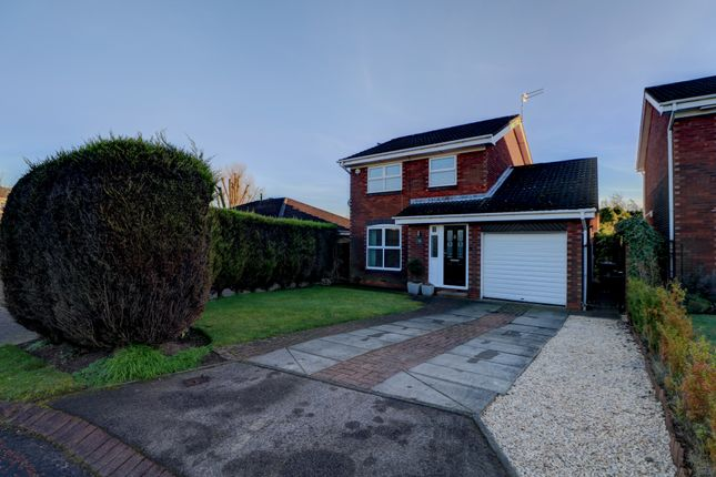 Thumbnail Detached house for sale in Rothbury Close, Chester Le Street